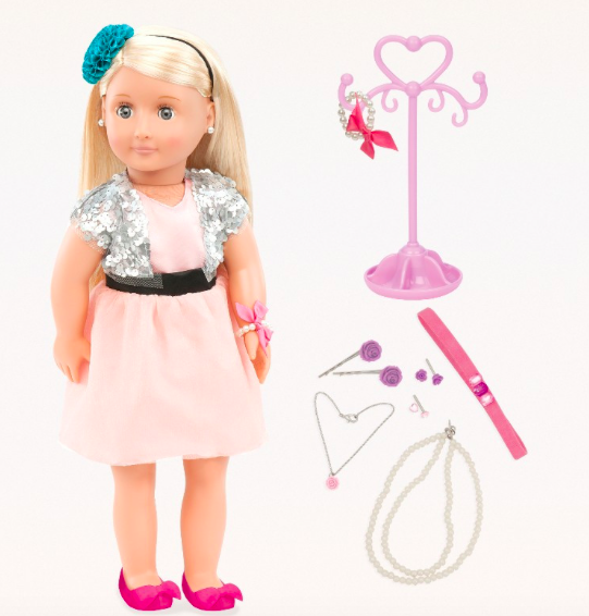 Mangler du en stor dukke til din store pige?