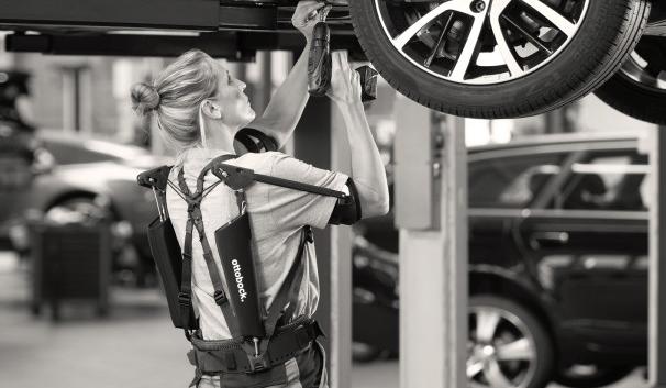 Paexo Exoskeleton fra IMMO Denmark og Ottobock Industrial er landet